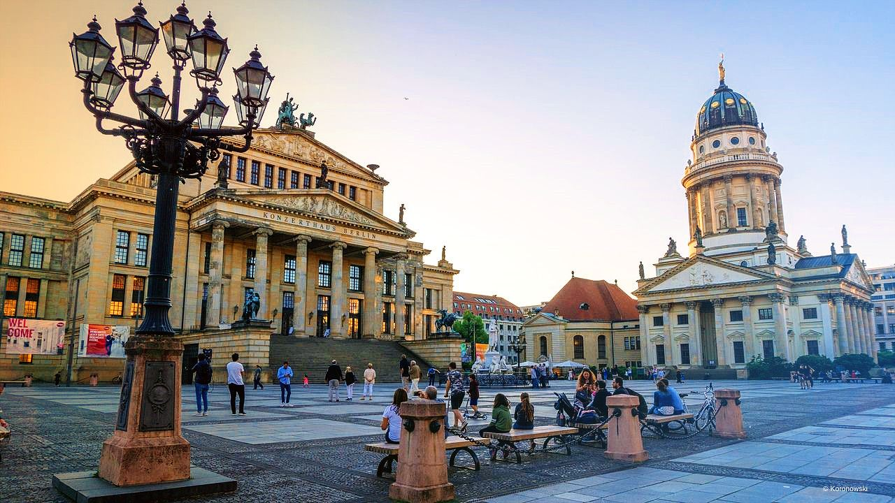 Visit the TV Tower and World Clock on the Alexanderplatz with this travel deal berlin