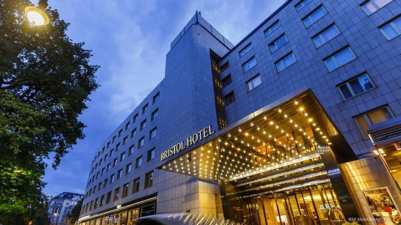 Stay at Berlin's luxury Hotel Bristol from 90 € per room