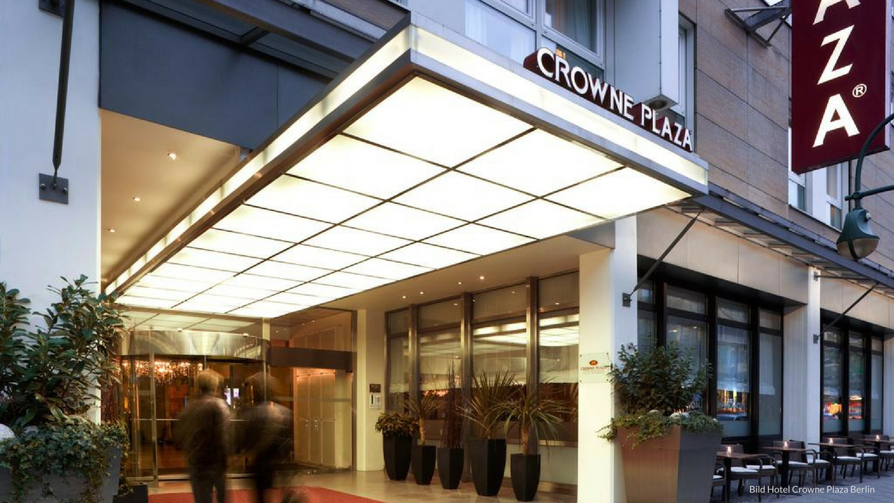 Stay and Flight at Berlin's 4 Star luxury Hotel - 4 nights at the Crowne Plaza Berlin City hotel
