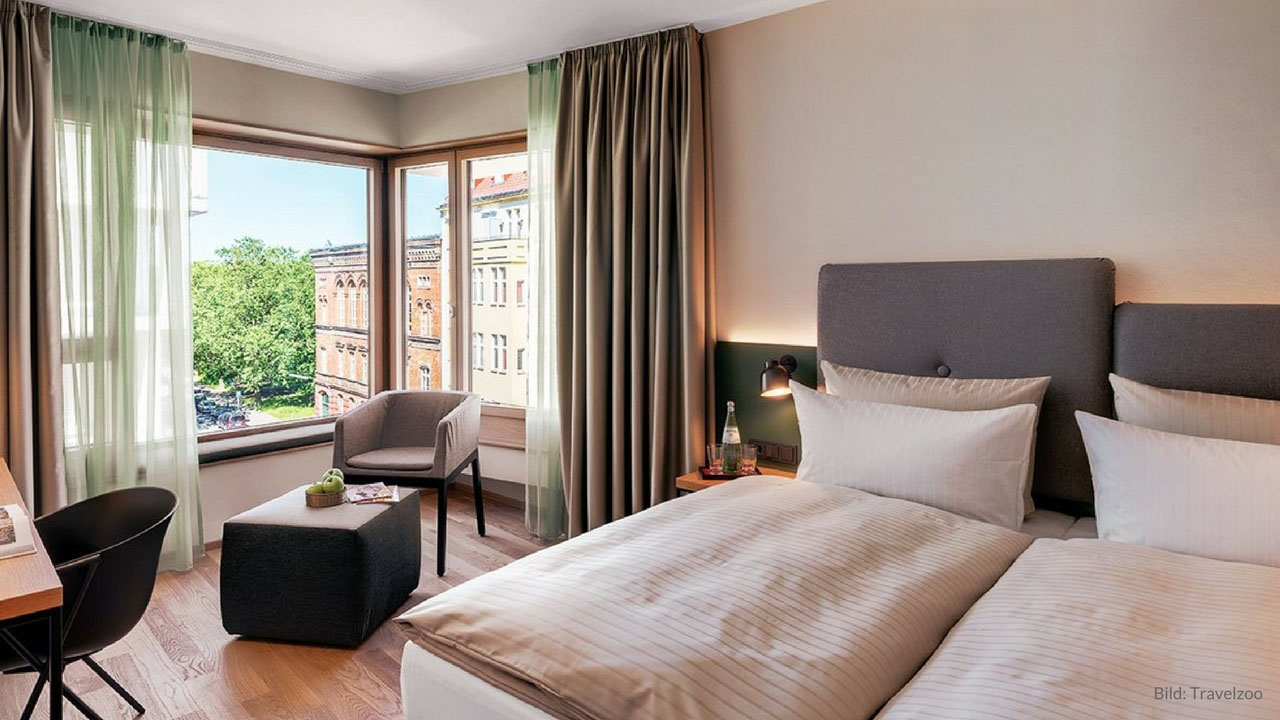 4 **** Hotel in the trendy district of Berlin - $ 110 for two persons