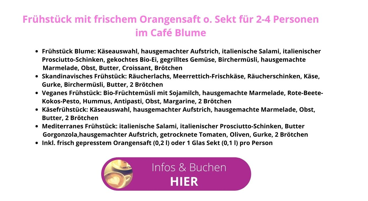 Cafe Blume Text