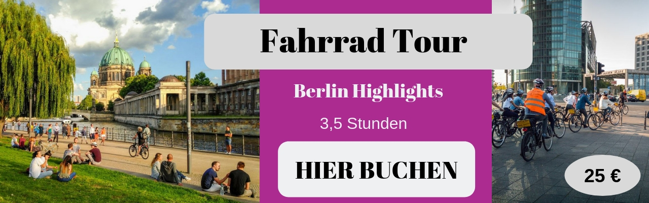 Fahrrad Tour Berlin Highlights