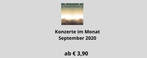 Konzerte im September 2020
