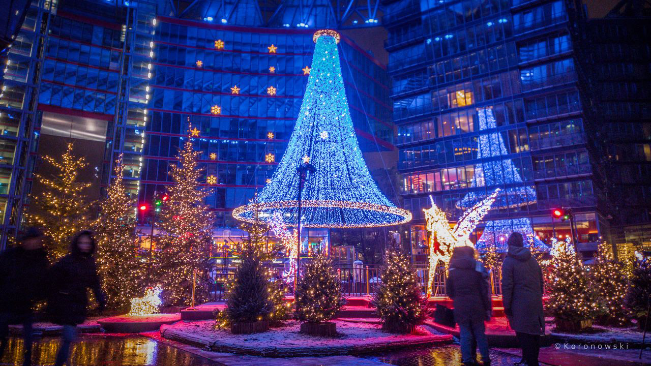 Weihnachtsmarkt am Sony Center