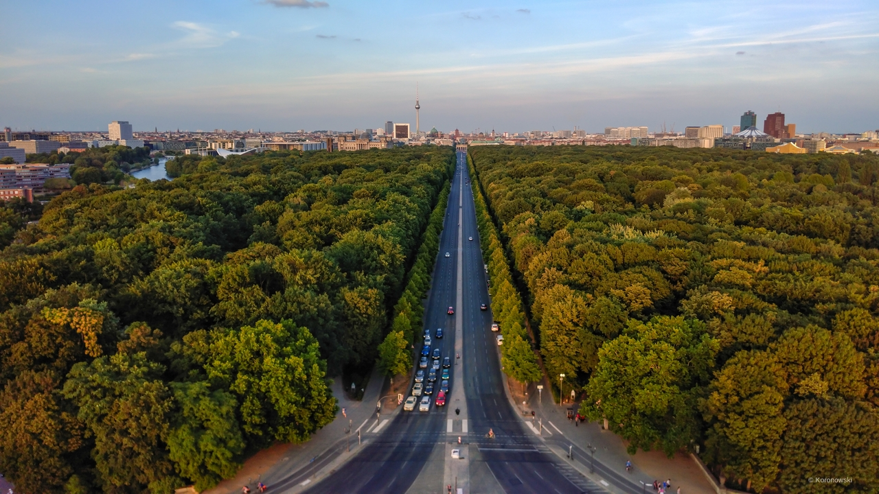 Visit the largest park in Berlin.