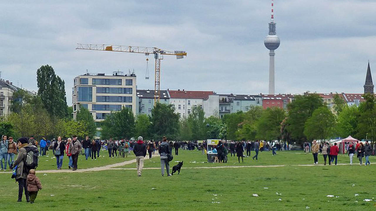 Mauerpark in Berlin