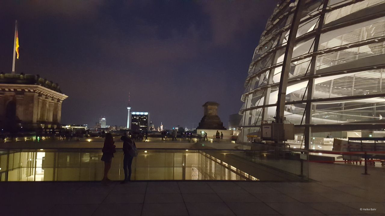 Reichstag Berlin: Dinner on the roof of the Berlin Reichstag