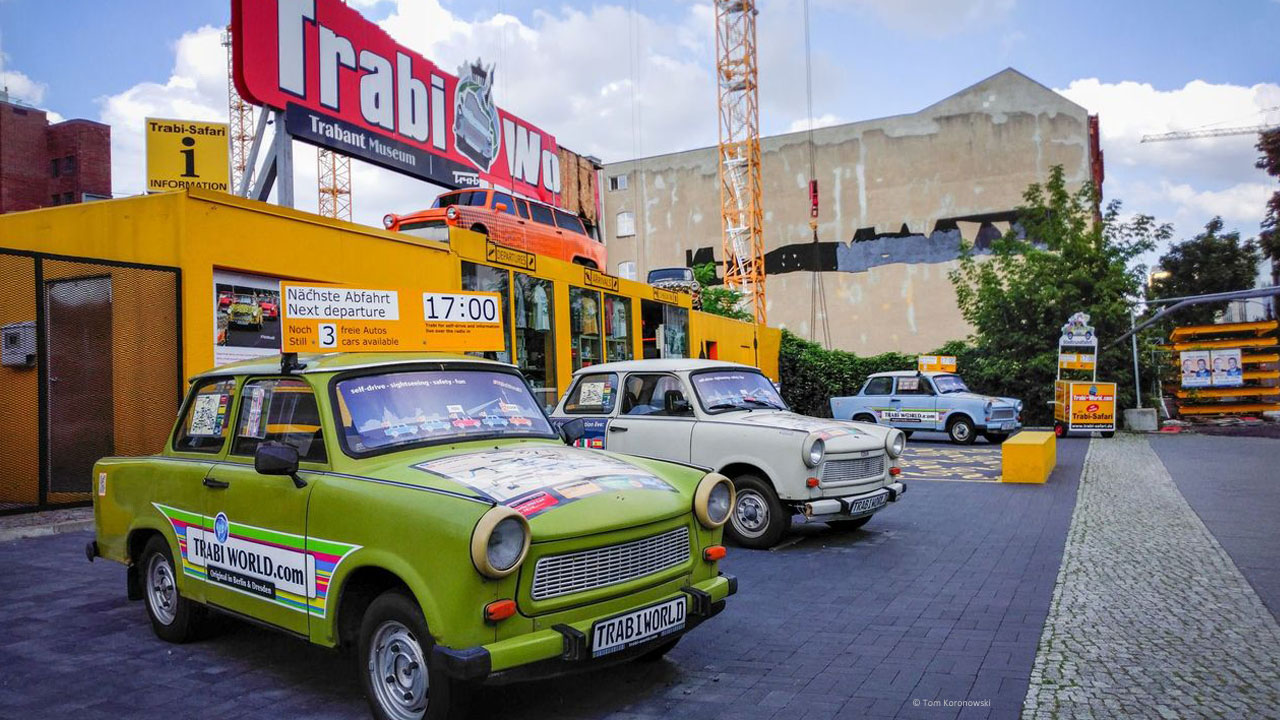 The Trabi tour of the capital