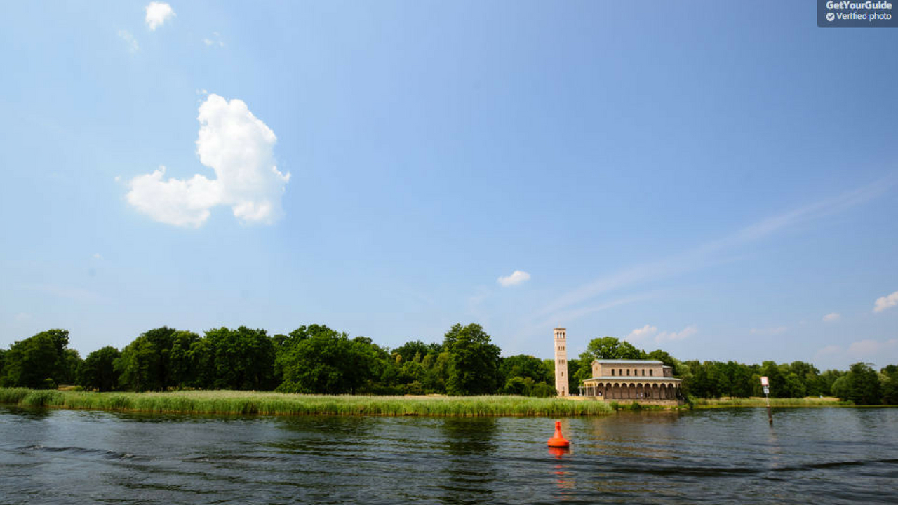 By boat from Berlin Wannsee to Potsdam