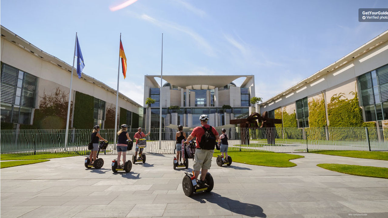 Segway Tour mit allen Highlights - Berlin Sightseeing