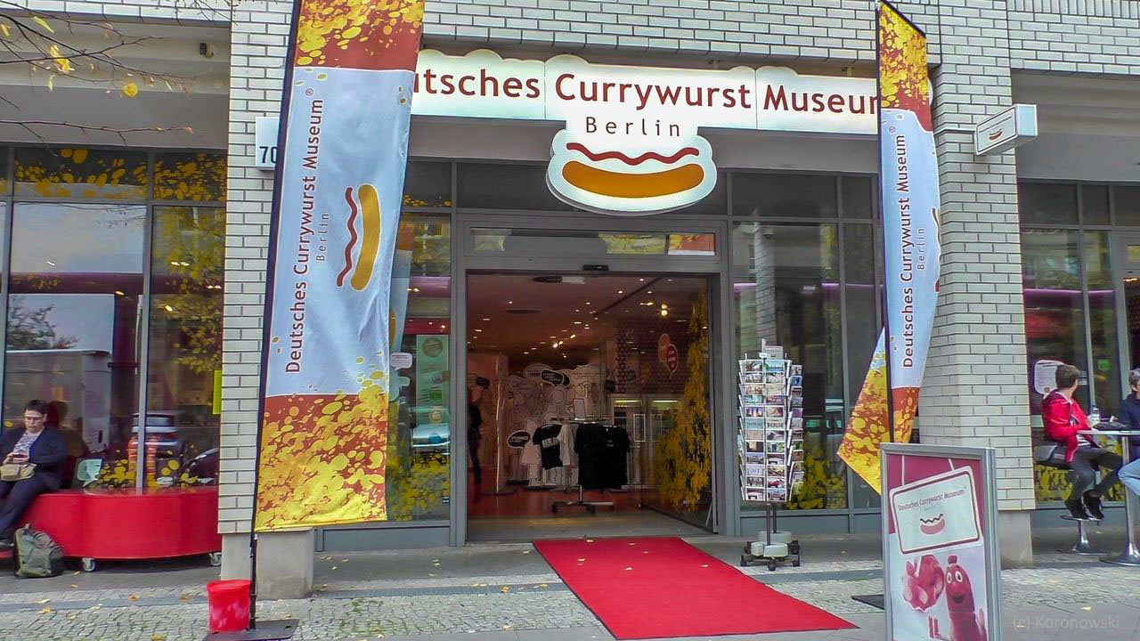No queues - ticket for the German Currywurst Museum