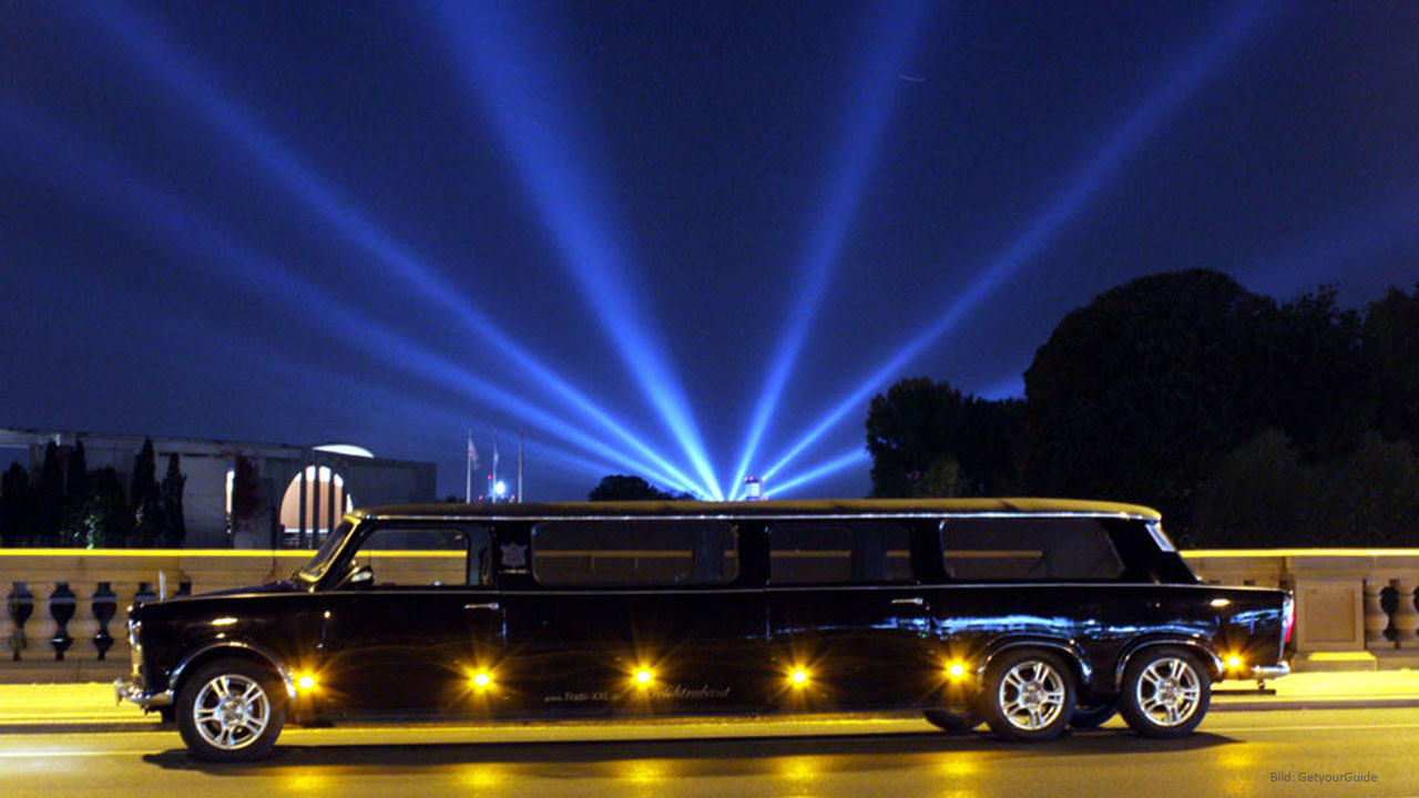 Trabi Limousine Airport Transfer with City Tour