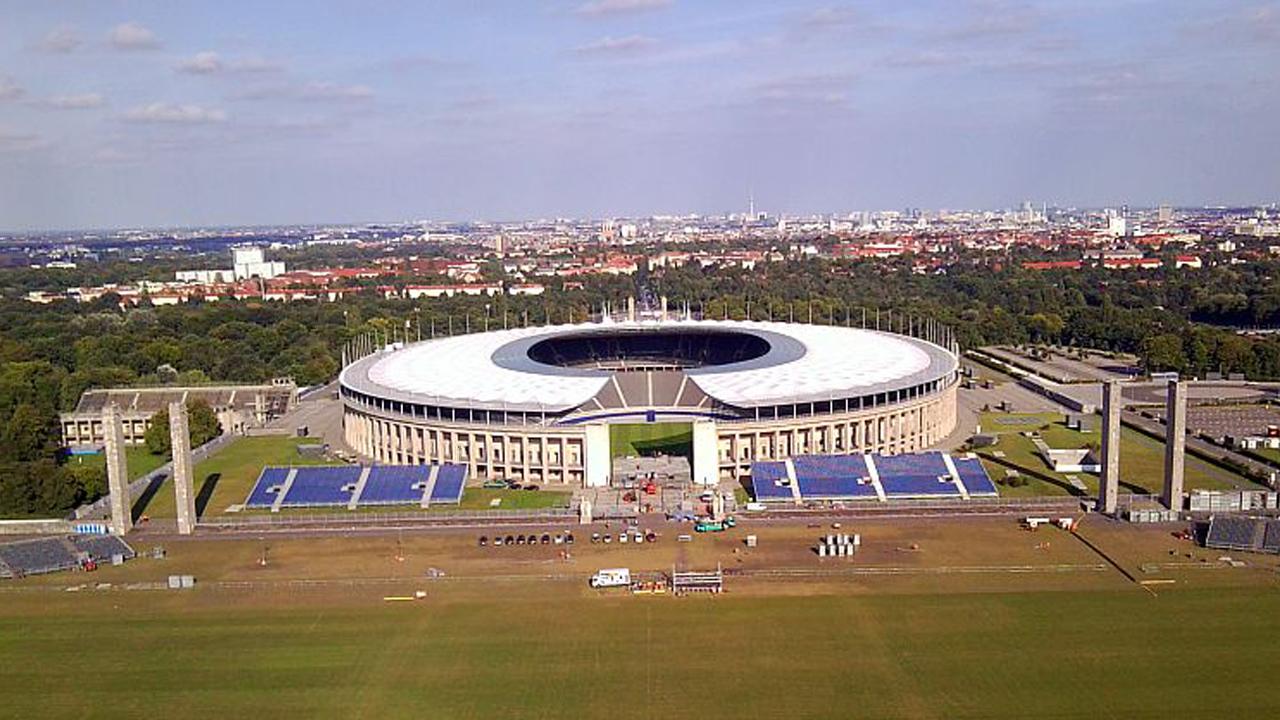 Sitzplätze Olympiastadion Berlin