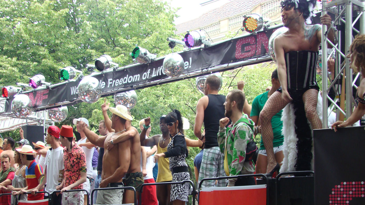 Christopher Street Day in Berlin 2017, 22nd of July