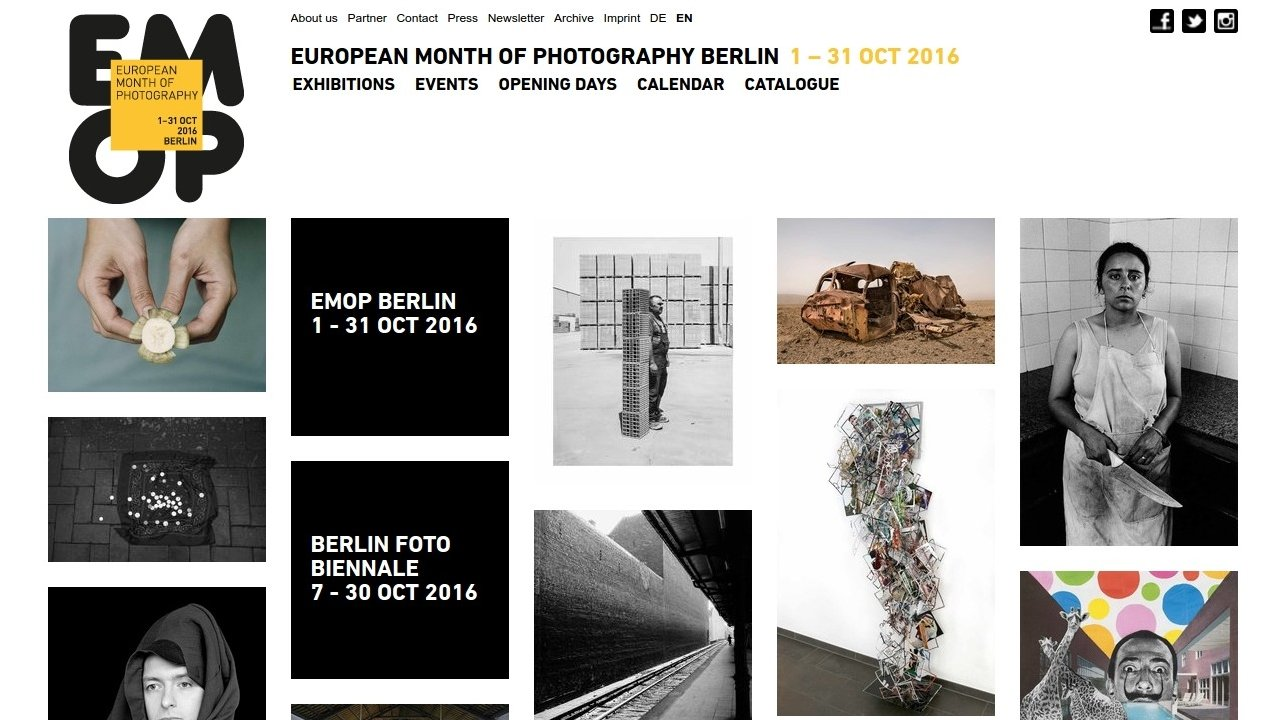 European Month of Photography Berlin